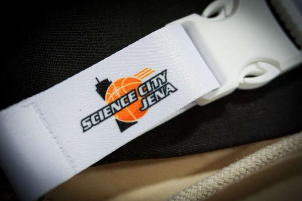 Schlüsselband Logo Science City Jena